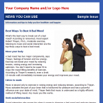 News You Can Use - Email Newsletter